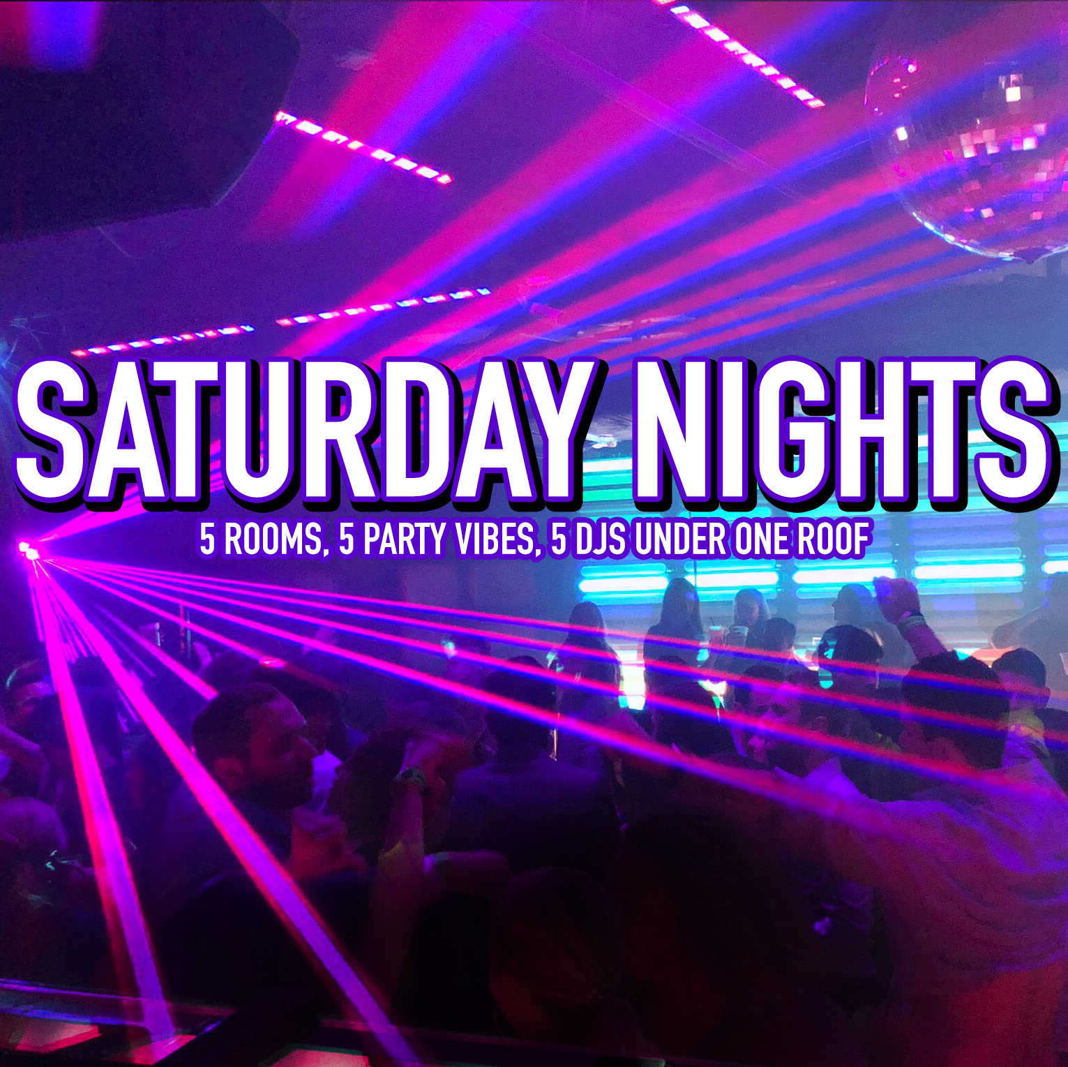 Saturdays at Woody's Philadelphia  All 5 Rooms Are Open!