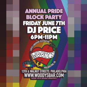 WOODY'S ANNUAL LGBTQ PRIDE BLOCK PARTY