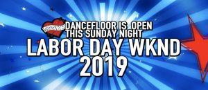 Woody's dancefloor will be open this Sunday Night